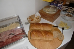 Colazione a Buffet - formaggi e salumi