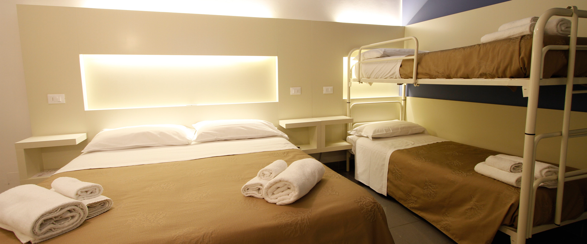 Camera quadrupla Hotel Desire Riccione