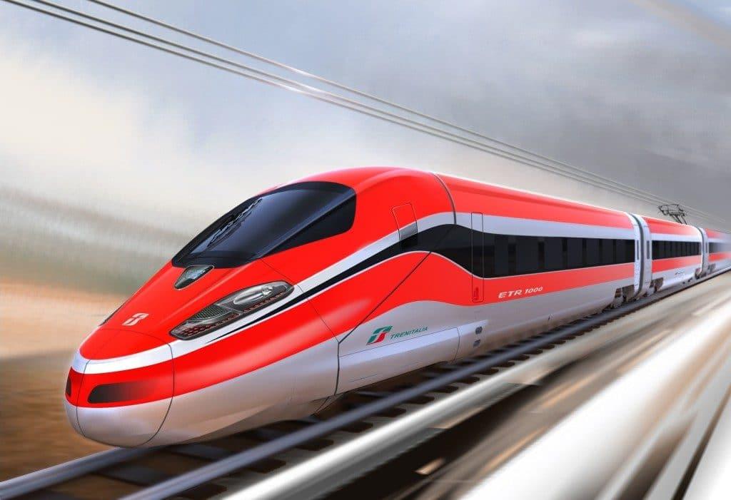 Riccione in treno